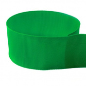 1cm Emerald Green Solid Grosgrain Ribbon - 100 Yards - USA Made -