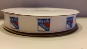New York Hockey Grosgrain Ribbon
