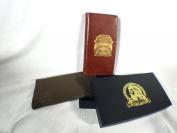 Arnoldus Indiana Jones Idol Designer Brown Leather Wallet