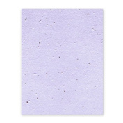 Grow-a-Note Plantable Seed Paper, 5 sheets, 33cm x 48cm , Lavender