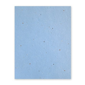 Grow-a-Note Plantable Seed Paper, 5 sheets, 33cm x 48cm , Blue Marble