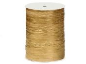 Metallic Paper Gold Raffia 100 yds (1 spool) - WRAPS-751MGO