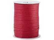 Paper Deep Red Raffia 100 yds (1 spool) - WRAPS-766DR