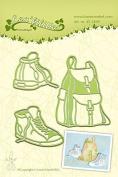 Joy Craft Lea'Bilitie Sneakers & Back Pack Cut And Embossing Die