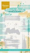Marianne Design Eline'S Brush Set Stamp Set