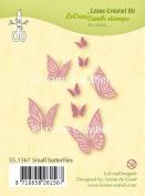 Joy Craft Lecreadesign Small Butterflies Clear Stamp