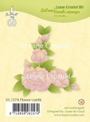 Joy Craft Lecreadesign Flower Combo Clear Stamp