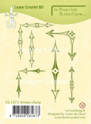 Joy Craft Project Life & Cards Lecreadesign Arrows Sharp Clear Stamp
