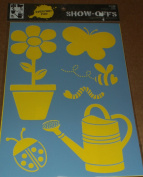 Everyday Fun Show Offs Decorative Stencil - Garden