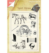 Joy Craft Clear Stamps-Horses