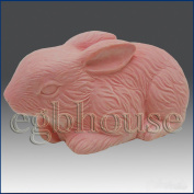 Cuddly Bunny Rabbit - 3d Soap/candle/polymer/clay/cold Porcelain Silicone Mould