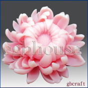 Fancy Chrysanthemum - 3d Glycerine Soap Silicone Mould