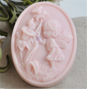 Oval Shape Silicone Handmade Soap Mould Angle Natural Soap Making Supply