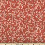 Quilting Fabric Royalty Orange/By the yard