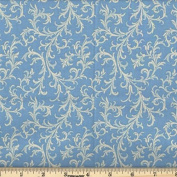 Quilting Fabric Royalty Lt Blue/By the yard