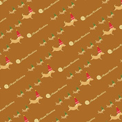 Cute Puppy Birthday Party Wrapping Paper - 1.8m Roll