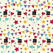 Leo's Smile Birthday Wrapping Paper - 1.8m Roll