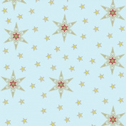 Stars Theme Birthday Wrapping Paper - 1.8m Roll