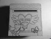 Ready to Colour Valentine Mailbox