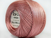 Rose Pink Mimosa Size 10 Microfiber Crochet Thread
