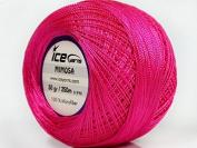 Candy Pink Mimosa Size 10 Microfiber Crochet Thread