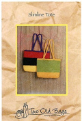 Slimline Tote - Two Old Bags Knitting & Felting Pattern