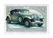 Riolis cross stitch kit 0031 PT Wikov STICKPACKUNG cars hobbies old cars retro