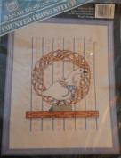 Goose Wreath Country Cross Stitch Kit CSM-608