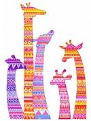 Giraffe Cross Stitch Kits,egypt Cotton,14ct,59x79cm 270x384 Stitch Cotton Aida Fabrica Counted Cross Stitch Kit