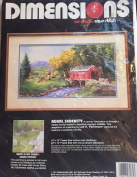 """Dimensions """"Rural Serenity"""" No Count Cross Stitch Kit"""