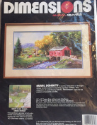 "Dimensions ""Rural Serenity"" No Count Cross Stitch Kit"