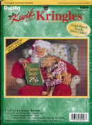 Bucilla Kwik & Easy Kringles Stamped Cross Stitch Kit ~ A Christmas Story