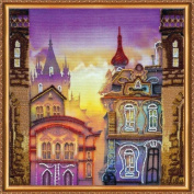 """Beaded DIY Embroidery Kit """"Old town"""""""