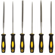 6pc Coarse Grit Precision Hobby File Tool Set