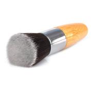 Lifetop 1PC Professional Makeup Brush Flat Top Foundation Powder Beauty Brush Cosmetic Make Up Brushes Tool Wooden Kabuki Make-up BrushHandle
