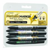 W & N Metallic Marker 6 Set #1
