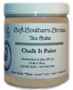 Chalk It Paint finish for Furniture, Art, Crafts, and More! Tea Cake 240ml