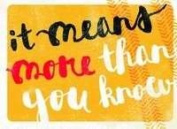 Dayspring Cards 72729 Note Card-More Than You Know Thank You