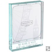 Spaceform Large Glass Photo Frame We Made A Wish 1886
