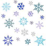 Cheery Lynn Designs Snowflakes Die