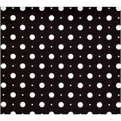 12x12 Paper - Recollection Basics Black Large Dots - 4 Sheets