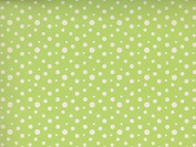 12x12 Paper - Recollections Banana Leaf Green Yellow Dot - 6 Sheets