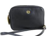 MICHAEL Michael Kors Fulton Large East West Leather Crossbody Bag in Black