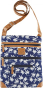 Stone Mountain Palm Tree Lockport Handbag Blue