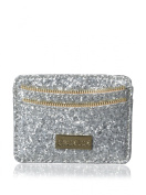 Deux Lux Women's Daiquiri Card Case, Silver