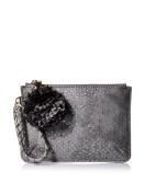 Deux Lux Women's Cotton Candy Wristlet, Grey