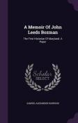 A Memoir of John Leeds Bozman