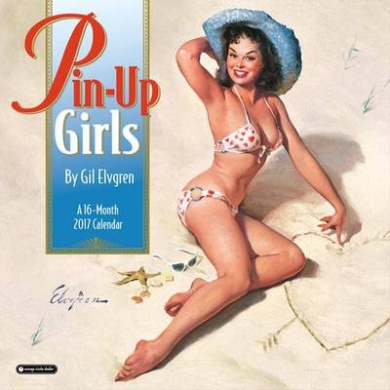 2017 Pin-Up Girls Wall Calendar (Wall)