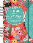 2017 Secret Garden Do It All Planner