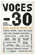Voces -30, Nueva Narrativa Chilena 2011 [Spanish]